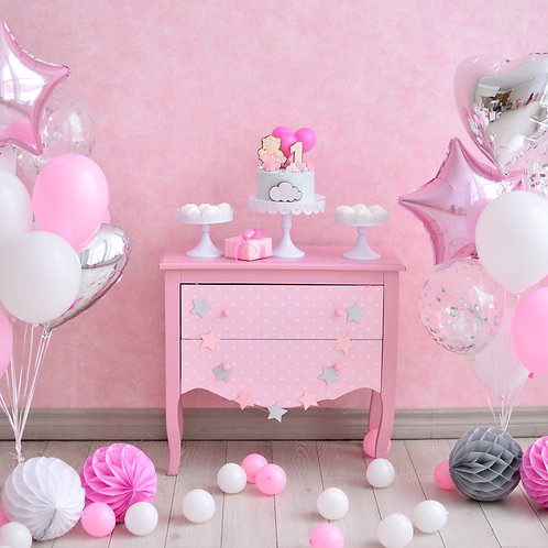 Pretty in Pink Balloon Mix