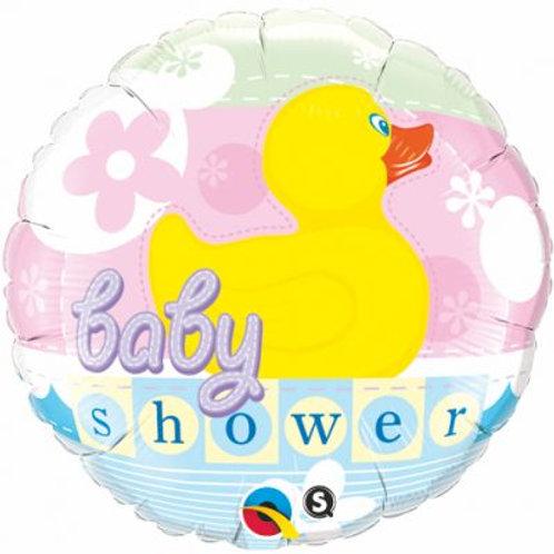 Baby Shower Rubber Duck Foil Balloon