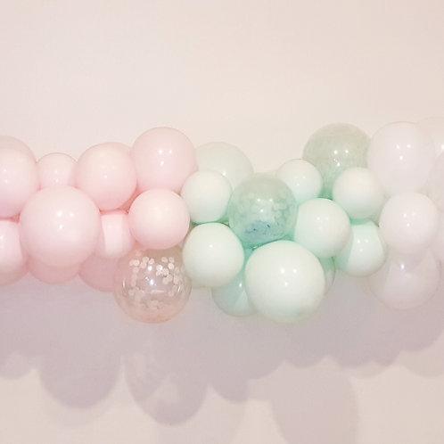 Pastel Colours Mini Balloon Garland DIY kit