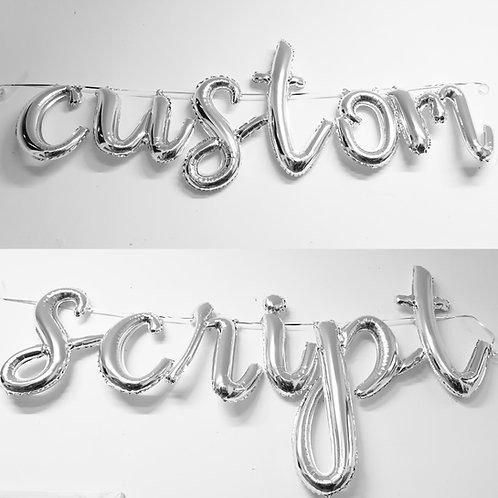 Airfill Script Balloon Letter each