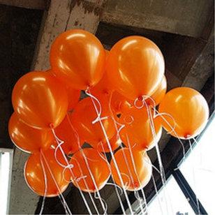 Metallic Orange 30cm - Pkt of 12