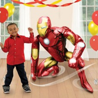 Ironman Airwalker Giant Foil Balloon