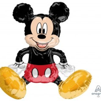 """Mickey Mouse Sitting Foil 18"""" / 45cm"""