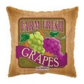 Grapes Foil Balloon - 18""