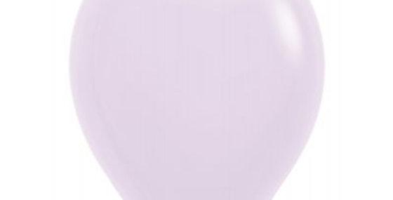 Pastel Matte Lilac Helium Balloon 30cm each