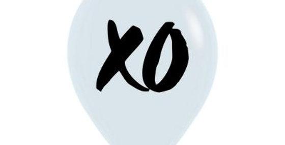 XO Print Helium Balloon 28cm