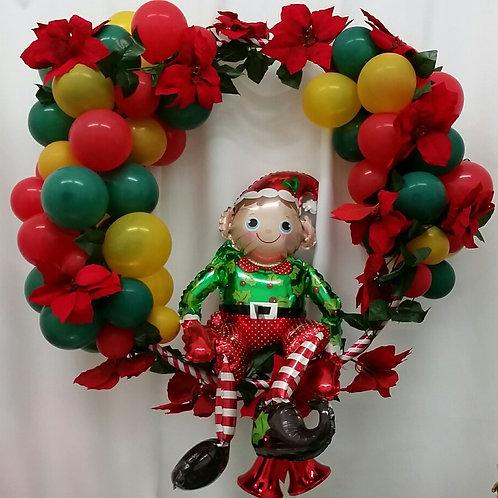 Christmas Elf Foil Balloon