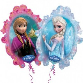 Frozen Anna and Elsa Supershape Foil Balloon