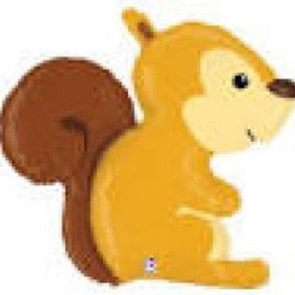 "Woodland Squirrel Foil - 36"""