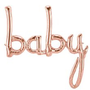 "Baby Rose Gold - 46"" Airfill Only"