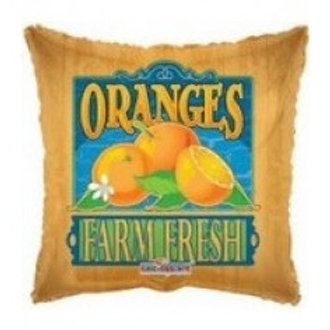 "Oranges Foil Balloon - 18"""