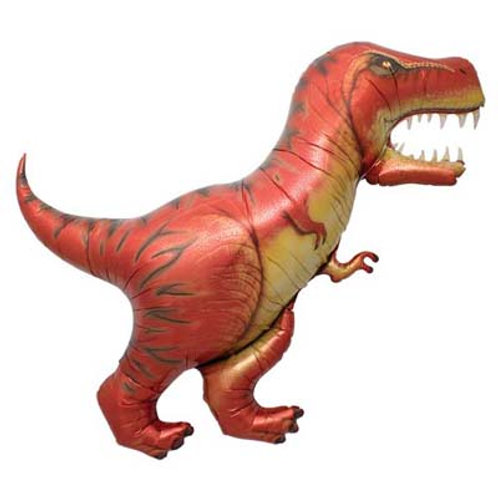 TRex Dinosaur Foil Balloon 119cm