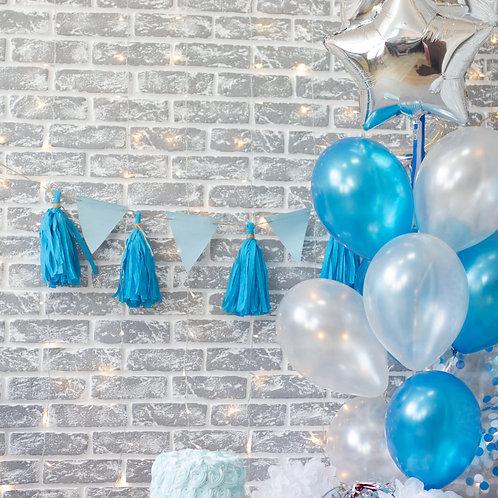 First Birthday Boy Balloon Mix