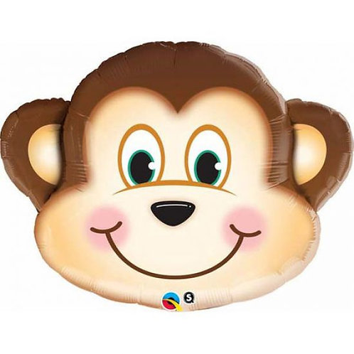 Monkey Head Balloon