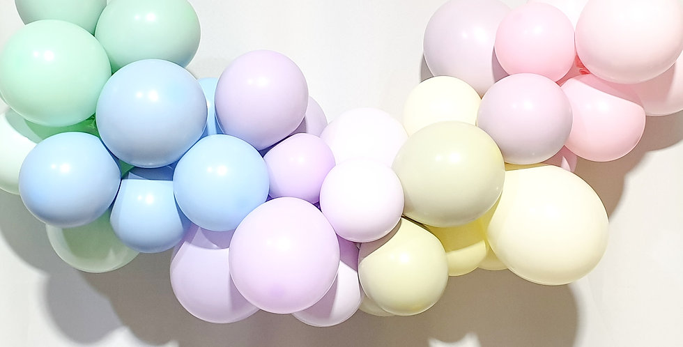 Balloon Garland DIY Kit - Dirty Pastels