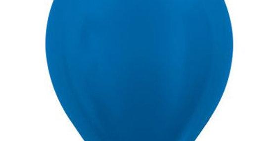 Metallic Blue Helium Balloon 30cm each