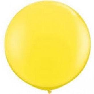 Giant 90cm Yellow Balloon