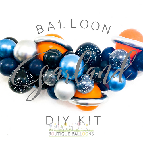 Balloon Garland DIY Kit - Space