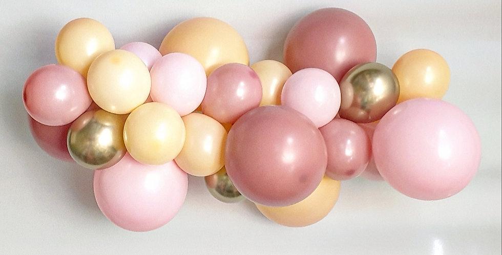 Balloon Garland DIY Kit - Dusty Pink