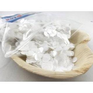 Balloon Confetti - 20gm White 1cm
