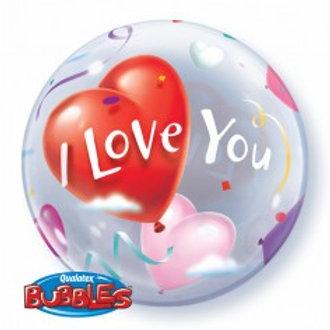 """I Love You Hearts Balloon 22"""""""