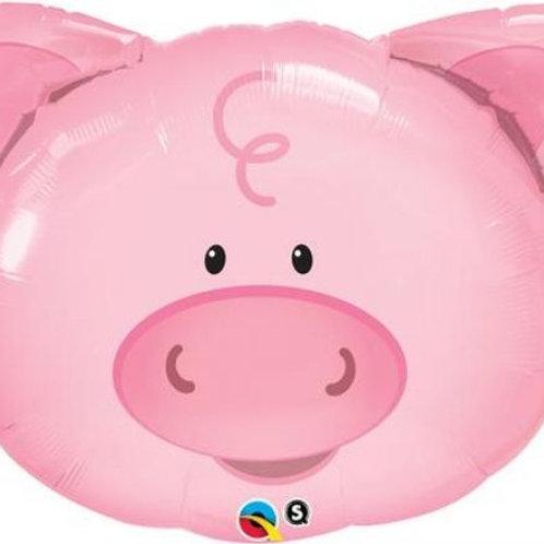 Pig Head Balloon
