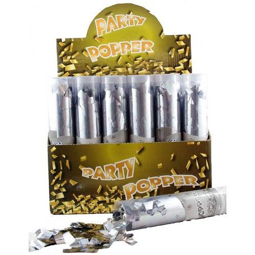 Wedding Confetti Popper - Silver Confetti