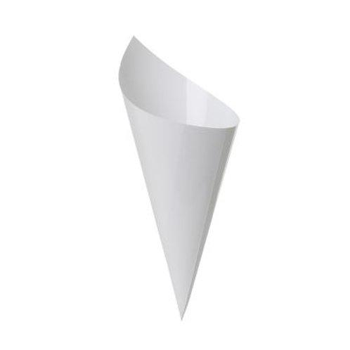 Paper Cone White Pkt 10
