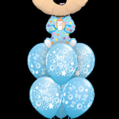 Yep! I'm a boy balloon bouquet mix - Pkt of 7 balloons