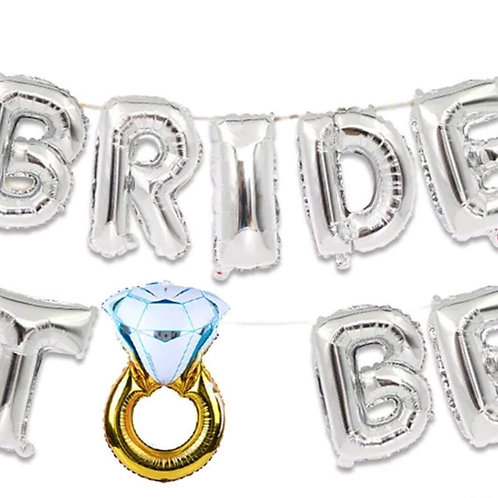 Bride to be Supershape Foil Balloons