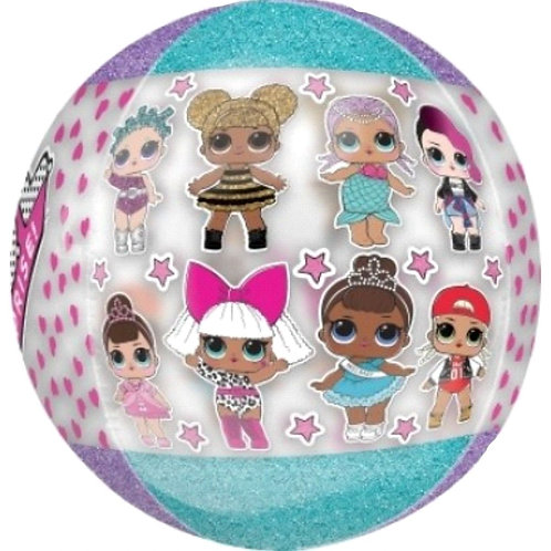 "LOL Surprise Doll Orbz Foil Balloon - Size 16"""