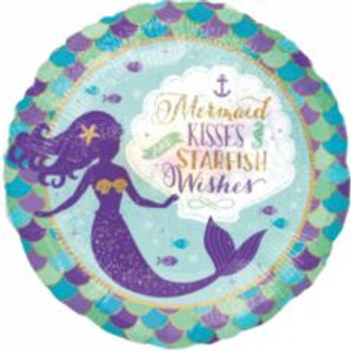 Mermaid Kisses & Star Fish Kisses Foil - 18""