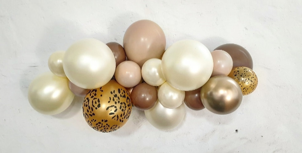 Balloon Garland DIY Kit - Jungle Neutral