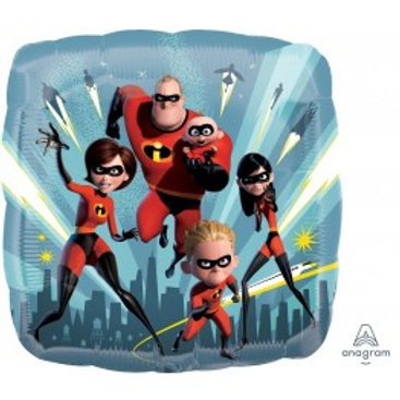 "Incredibles Foil Balloon - Size 18"", Pkt of 1"
