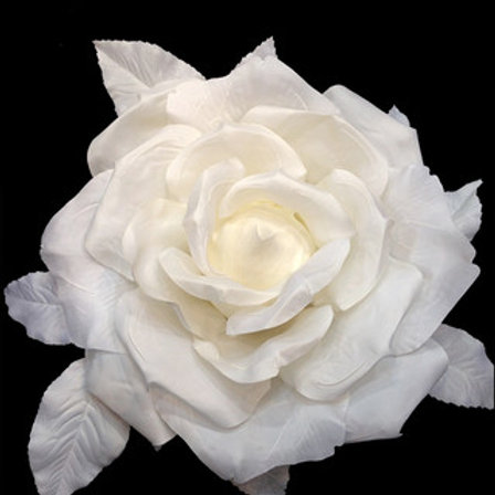 Faux Rose Head - 26cm