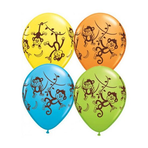 Mischievious Monkey Balloons PKT 4