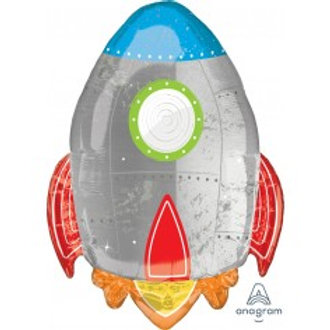 Space Ship Supershape Foil Balloon
