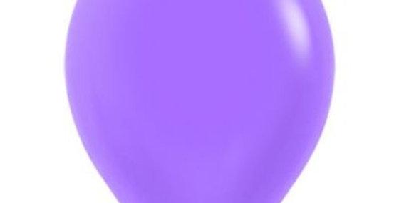 Neon Purple Helium Balloon 30cm each