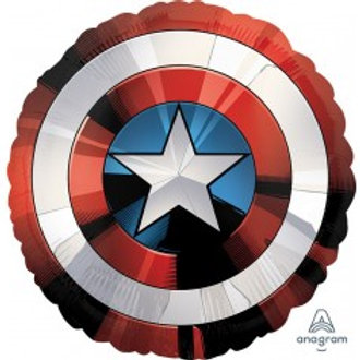 Captain America's Shield Foil Supershape Balloon