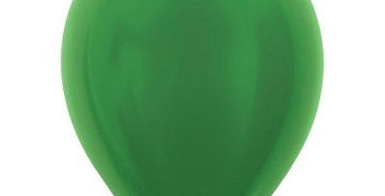 Metallic Green Helium Balloon 30cm each