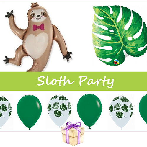 Sloth Balloon Kit