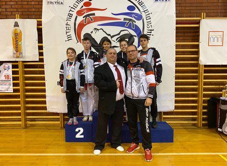 Dva-krát zlato z turnaja v Chorvátsku.