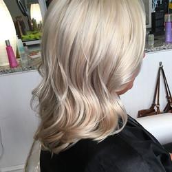 Summer blonde blend✨✨✨✨_#mhhairdressing