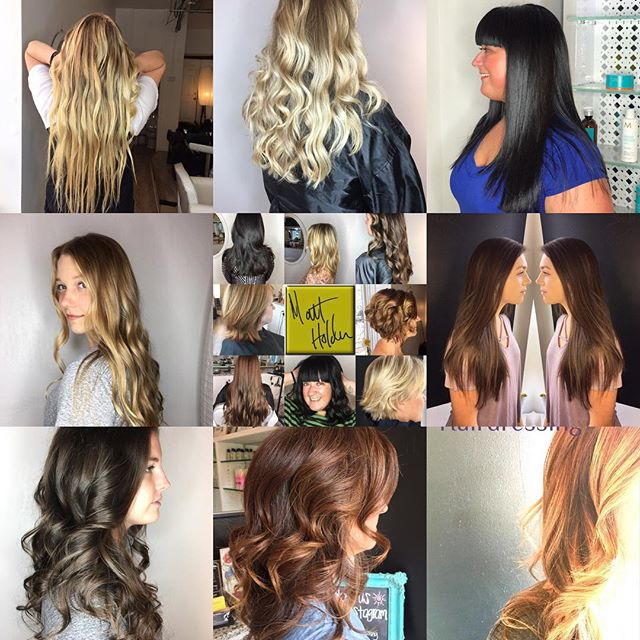 Some of the best of 2017❄️ #mhhairdressi