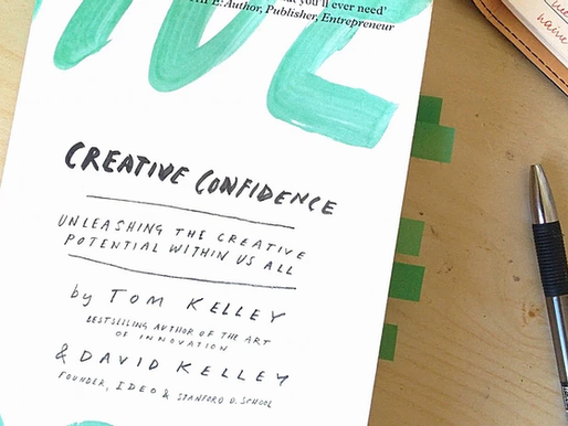 Creative confidence - book notes
