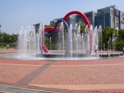 주안역광장(바닥분수)