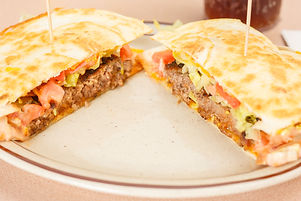 Quesadilla Burger, Breakfast, Lunch, Dinner, Great Food, Food, Eat, Restaurant, Family Diner, 24hr Breakfast, Rendezvous