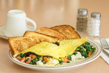 Greek Omelette, Breakfast, Lunch, Dinner, Great Food, Food, Eat, Restaurant, Family Diner, 24hr Breakfast, Rendezvous