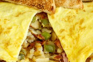 Farmer's Omelette, Breakfast, Lunch, Dinner, Great Food, Food, Eat, Restaurant, Family Diner, 24hr Breakfast, Rendezvous