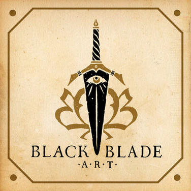 Black Blade Art Logo Design